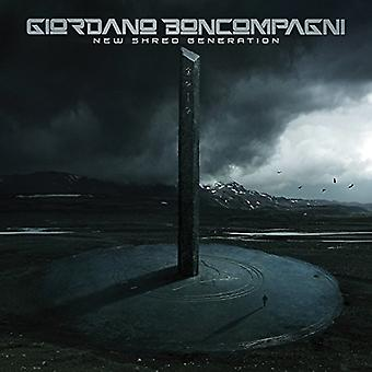 Giordano Boncompagni - New Shred Generation [CD] USA import