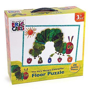 Foarte foame Caterpillar Jumbo Floor puzzle (24 piese)