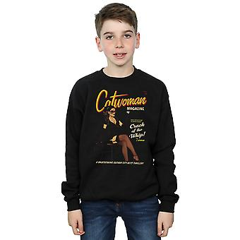 DC Comics Jungen Catwoman Bombe Cover Sweatshirt