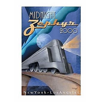 Midnight Zephyr 2000 Poster Print by Michael Kungl (28 x 40)