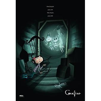 Coraline - desto mutiger seid ihr Plakat Poster drucken