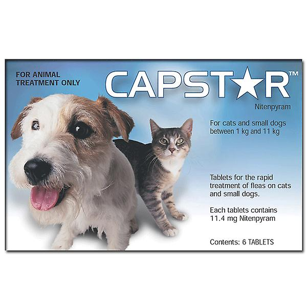 Capstar Tablets for Cats & Small Dogs 0.5-11kg (2-24lbs)