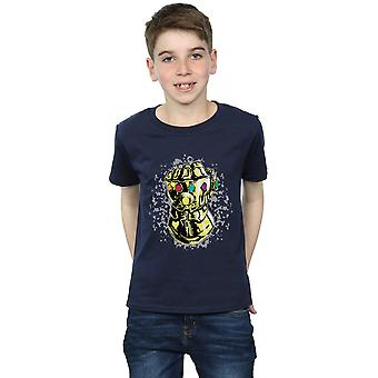 Marvel Avengers Infinity guerra Thanos Fist t-shirt