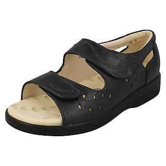 Mesdames Padders Peep Toe Sandals Heatwave