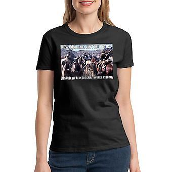 Young Guns Spirit World Women's Black T-shirt