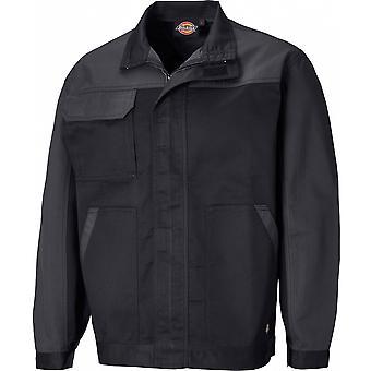 ディッキーズ メンズ CVC ポリコットン調整作業服ジャケット
