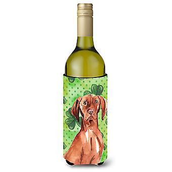 Shamrocks Vizsla botella de vino Beverge aislador Hugger