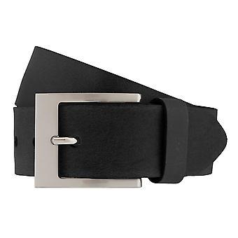 BERND GÖTZ belts men's belts leather belt black shortened 573
