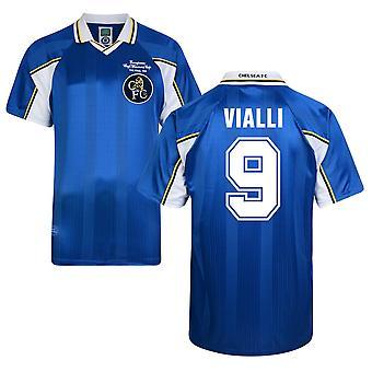 Score Draw Chelsea 1998 Home Shirt (Vialli 9)