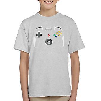 Nintendo 64 pelaamista ohjain Lasten t-paita