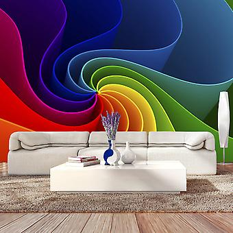 Fotobehang - Colorful Pinwheel