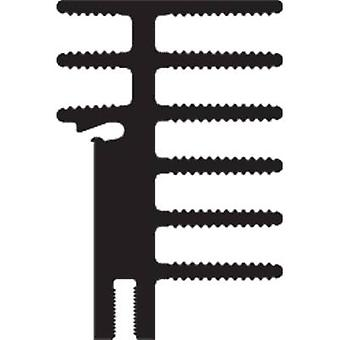 فيشر Elektronik SK 481 50 SA + 2x THFU 2 بالوعة الحرارة 4.2 K / W (L x W x H) 50 × 30 × 45 ملم