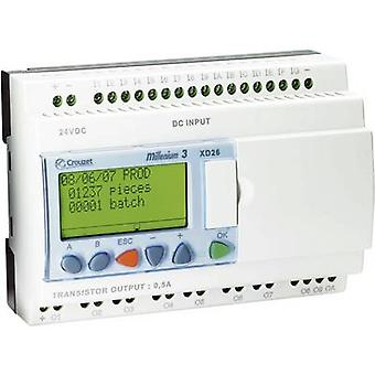 Crouzet 88970162 Millenium 3 XD26 S PLC controller 24 V DC