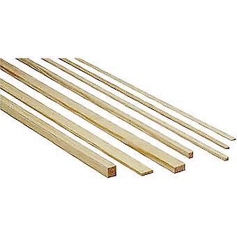 Pinewood bar Graupner (L x b x H) 1000 x 4 x 4 mm 10 eller flere PCer