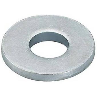 Lavador de aço zinco galvanizado 100 pc(s) Fischer U 8x17 91477