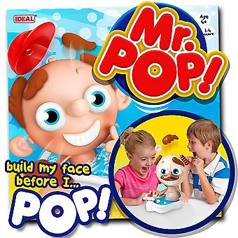 Mr Pop Game Face Building Family Game