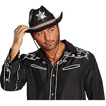 Kovboj klobúk Texas čierne doplnky klobúk Karneval Halloween