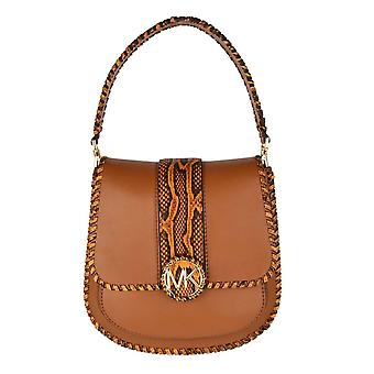 MICHAEL by Michael Kors Lillie Acorn Leather Messenger Bag