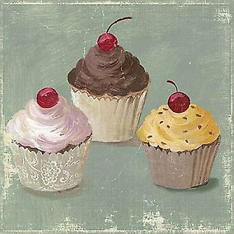 Cupcakes Poster Print by  PI Studio (12 x 12)