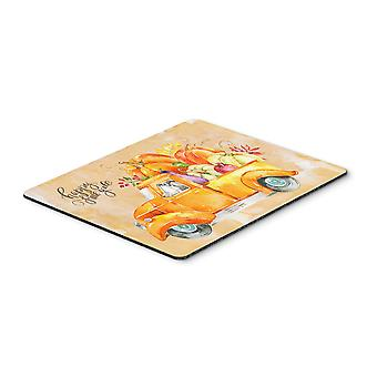 Fall Harvest Italian Greyhound Mouse Pad, Hot Pad or Trivet