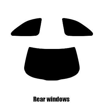 Pre cut window tint - Lexus SC Coupe - 1992 to 2001 - Rear windows