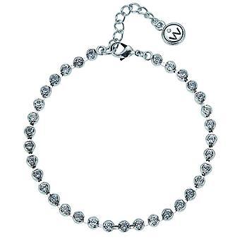 Oliver Weber Bracelet Plain Rhodium Crystal