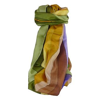 Maulbeere klassischen langen Seidenschal Sharma Regenbogenpalette von Pashmina & Seide
