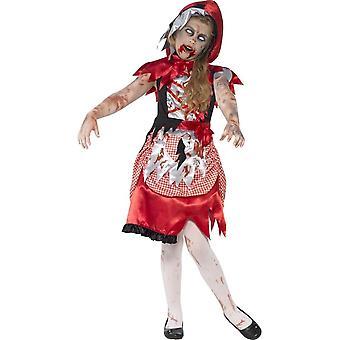 Zombie Miss huppu puku, normaali ikä 7-9