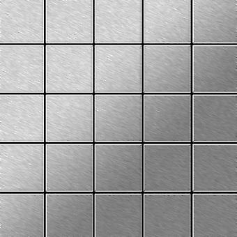 Metallmosaik Edelstahl ALLOY Century-S-S-MB