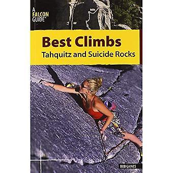 Meilleur grimpe Tahquitz et roches de Suicide