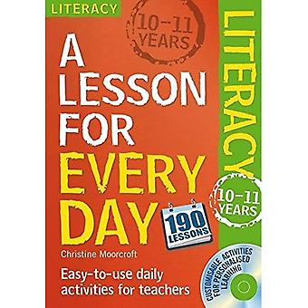Literacy Ages 10-11 (Lesson for Every Day)