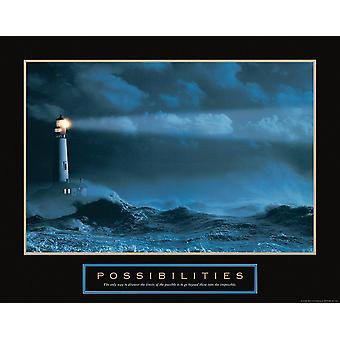Possibilities - Lighthouse Poster Print by Frontline