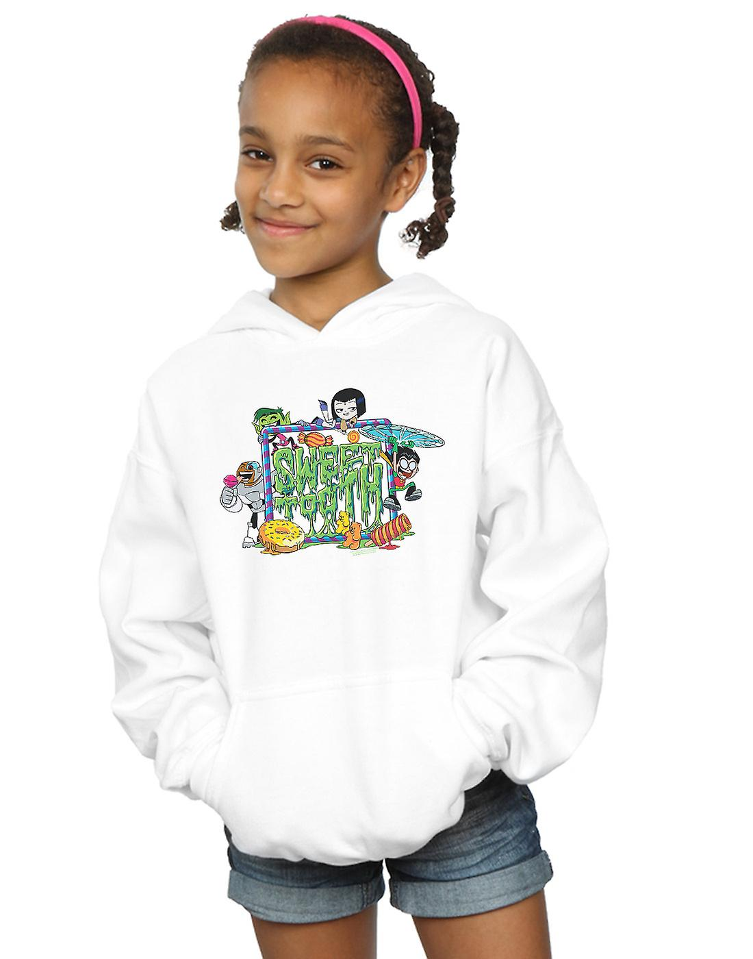 DC Comics Girls Teen Titans Go Sweet Tooth Hoodie
