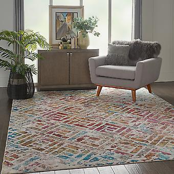 Radiante Nourison RAD09 gris Multi rectángulo alfombras alfombras Funky