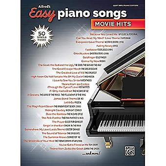 Alfred's Easy Piano Songs -- Movie Hits: 50 Songs and Themes (Alfred's Easy)