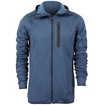 Quiksilver Herren Pionier Zip Up Fleece - Navy Blue