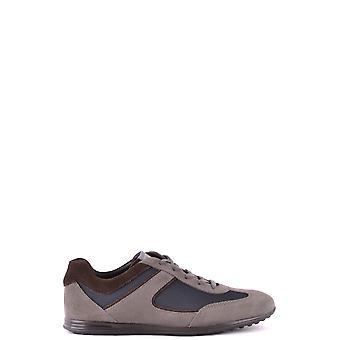 Tod's Ezbc025031 Men's Multicolor Suede Sneakers