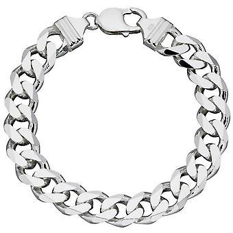 Начало супертяжелом огранки браслет - серебро