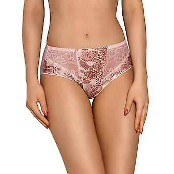 Vena VF-331 Women's Powder Pink Motif Lace Knickers Panty Brief