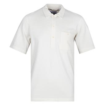 Albam coton blanc pull manches courtes chemise