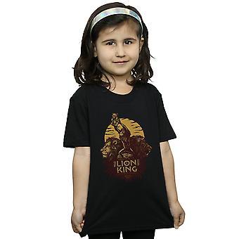 Disney Girls leijona kuningas Movie Sunrise Collage T-paita
