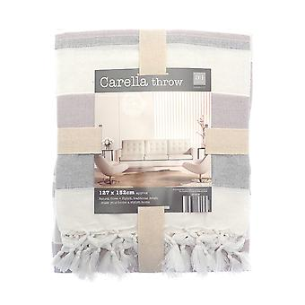 Country Club Carella Stripe Throw 127 x 152 cm