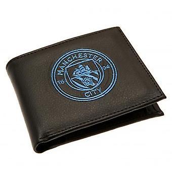 Cartera bordada del Manchester City