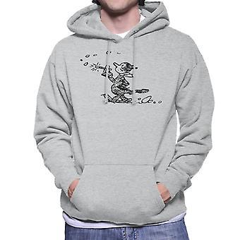 Krazy Kat Stroll sweatshirt med hættetrøje til mænd