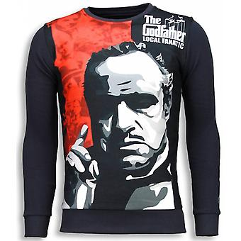 Padrino-The Godfather-Sweatshirt-mörkgrå