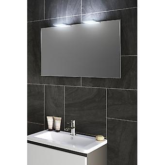 Espelho de luz superior do led shaver do ambiente com almofada e sensor k490w do demister