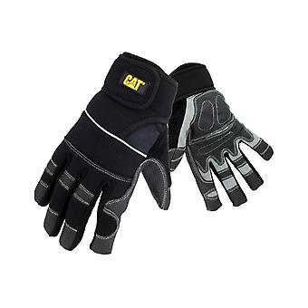 Caterpillar Mens 12217 Adjustable Glove Black