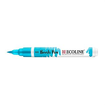 Talens Ecoline Liquid Watercolour Brush Pen - 551 Sky Blue Light