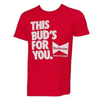 Budweiser This Bud's For You Tee Shirt