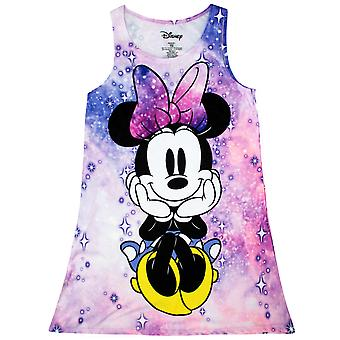 Minnie Mouse Space Pink Youth Girl's Dress